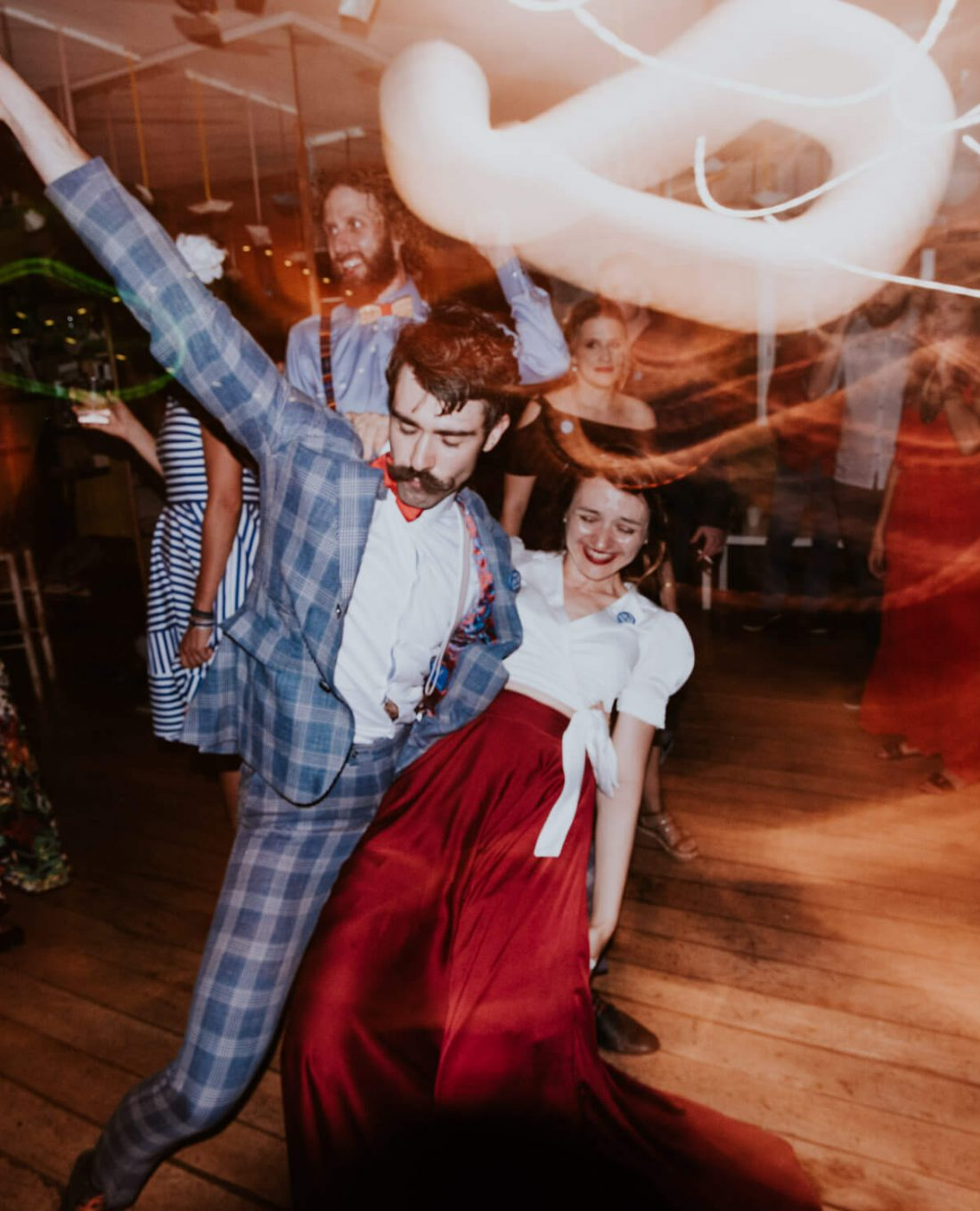 wedding party crazy creative photography dance